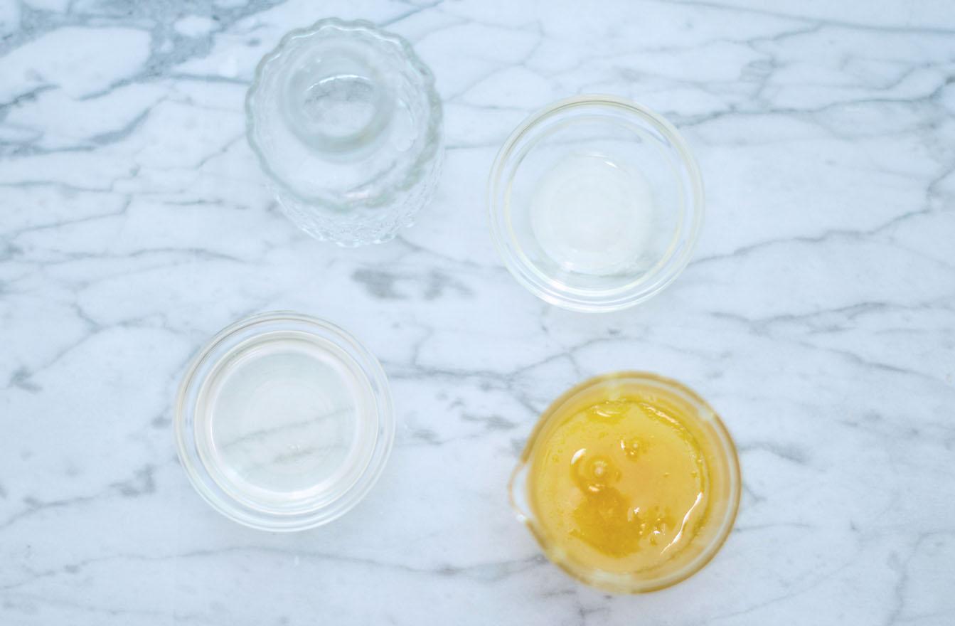 Cleanser mit Honig Rohstoffe