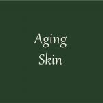 Picture with the word: Aging skin