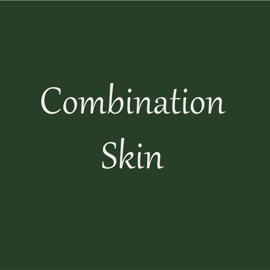 Picture with the word: Combination skin